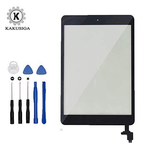 KAKUSIGA Kit de Remplacement d'écran pour iPad Mini 1 & 2 (Noir) 7.9 Pouces avec Vitre Tactile,...