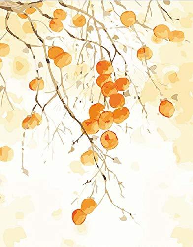 CHUDU Puzzle 1000 Stück Für Erwachsene Aus Holz Puzzle Spiel Spielzeug Tragbares Geschenk DIY Pflanzen Und Blumen Orange Frucht Kunst Dekor -
