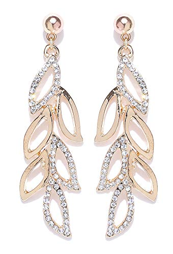 YouBella Jewellery Earrings for women stylish Latest Design Crystal Earrings for Girls and Women
