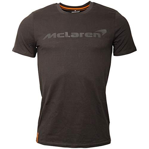 McLaren F1 Logo - Camiseta de Manga Corta, Color Gris, Small