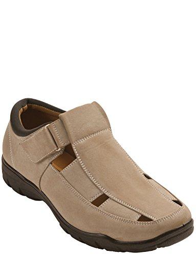 Herren Kissen Walk Sandale / Schuh Beige