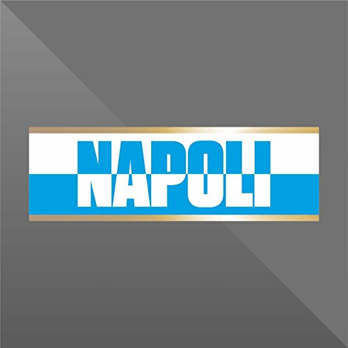 erreinge Sticker Napoli - Decal Cars Motorcycles Helmet Wall Camper Bike Adesivo Adhesive Autocollant Pegatina Aufkleber - cm 15