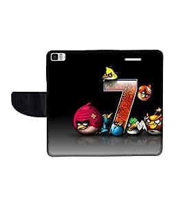 KolorEdge Printed Flip Cover For Redmi Xiaomi MI 3 Multicolor - (50KeMlogo09612XiaomiMI3)