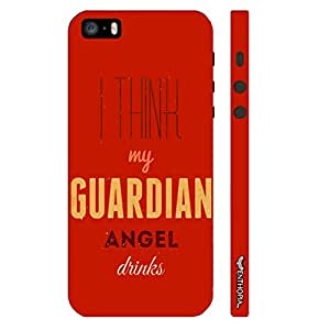 Enthopia Designer Hardshell Case Guardian Angel Back Cover for Apple iPhone 5,5s,SE