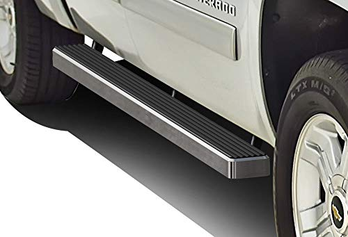 APS iBoard Trittbretter 10,2cm Passform 01-13Chevy Silverado/GMC Sierra Crew Cab Nerf Bar Seite Schritte Tube Schiene Bars Schritt Board -