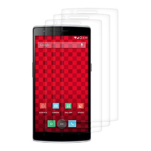 kwmobile 3x Pellicola per OnePlus One (5,5') - Pellicola protettiva trasparente Proteggi schermo Protezione ultra chiara Screen Protector Film