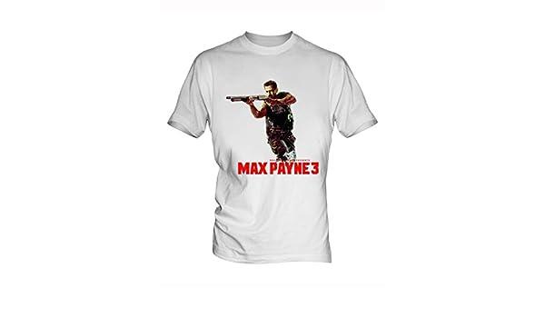 Hueley Max Payne 1 White Men S T Shirt Amazon Co Uk Clothing