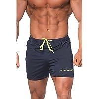 Jed North - Pantalones Cortos Ajustados Men's Tight Shorts, Bodybuilding Shorts