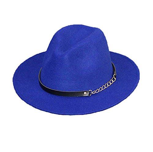 donna-ragazze-moda-autunno-inverno-retr-cappello-di-jazz-trilby-cappelli-blu-reale