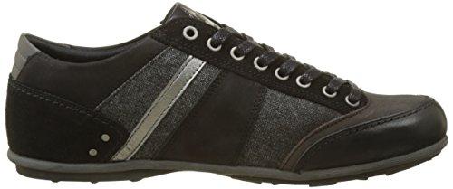 Le Turin Sportif Coq Herren Noir Black Sneaker Chambray rt1rpq