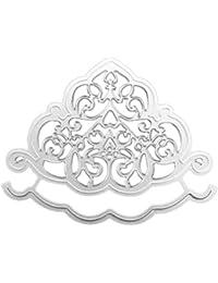 JiaMeng DIY Juego de Troqueles, Plantillas de moldes de Corte de Metales del Coraz¨®n de la Flor…