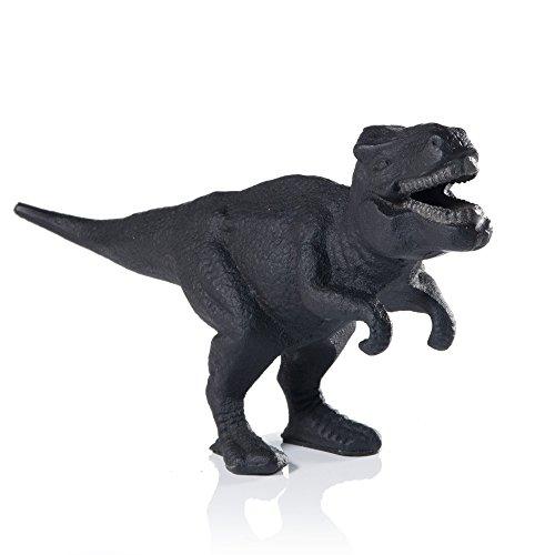 SUCK UK Dinosaurier-Flaschenöffner - Gusseisen, Schwarz