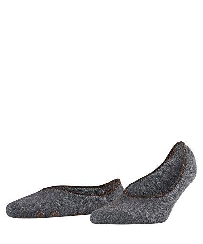 a Stoppersocken ABS Merino-Mischung Sohle 1 Paar Leichte, wärmende Füßlinge, Blickdicht, Dark Grey, 39-40 ()