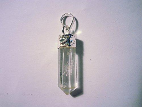 Pendentif pierre précieuse / gemme Améthyste Cristal de roche Aventurine et plus (cristal de roche)