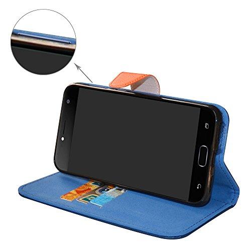 Mama-Mouth-Portafoglio-custodia-in-PU-di-cuoio-pelle-con-supporto-carte-di-credito-in-Piedi-caso-Case-per-ASUS-ZenFone-4-Selfie-ZD553KL-55-Smartphone
