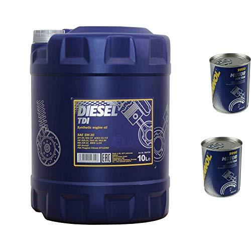 10L Motoröl MANNOL Diesel TDI 5W-30 2x Motor Doctor ADDITIV