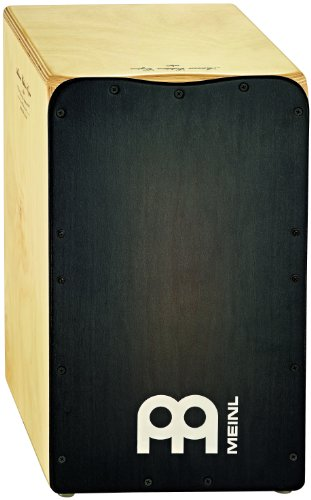 Meinl Percussion AE-CAJ3BK - Cajón color plateado