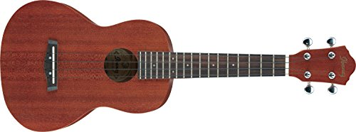 Ibanez UKC10 Konzert Ukulele im Natural Low Gloss Finish inklusive Ibanez Ukulelen-Gigbag - Low Gloss Satin