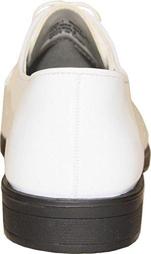 Lacets Verni À Pour Chaussures Vangelo Homme De Blanc Jeu Ville 8qxOU41wI