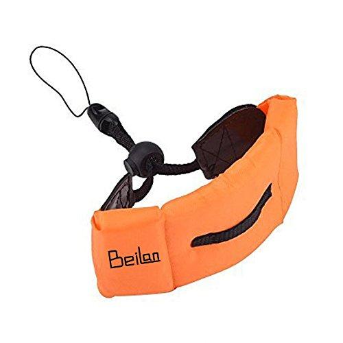 Orange Schwimm Foam Wrist Strap Float-Armband arbeitet mit Unterwasserkamera und wasserdichte Leben Beutel-Kasten für für Schwimmen Tauchen Meeresangeln oder andere Wassersportarten
