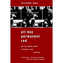 All Day Permanent Red by Christopher Logue (2004-06-23)