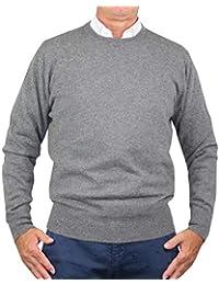 be94f897fadf 1stAmerican Winter längarmige Pullover aus 100% reinen Kaschmir  Rundausschnitt Herren in verschieden Farben - winterliche Herren 100%…