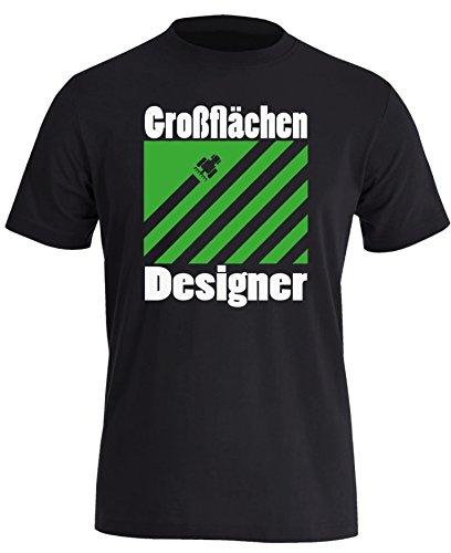 er - Perfektes Geschenk für Landwirte - Herren Rundhals T-Shirt (Männer Bauer Shirt)