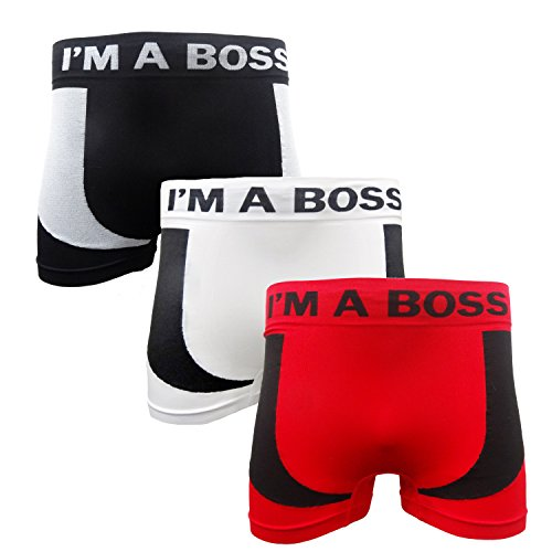 3-pairs-mens-seamless-boxer-shorts-trunks-briefs-adults-designer-boxers-s-xl-small-im-a-boss-3-pairs