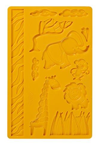 Party Wald Supplies (Wilton Jungle Tiere Fondant und Gum Paste Mould)