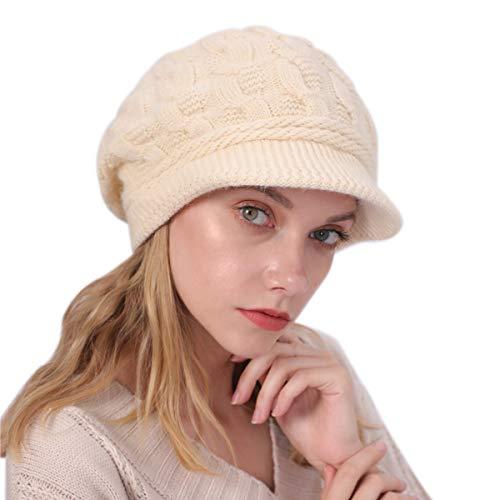 noi sporchi primo sguardo vendite speciali vamei Cappello Invernale per Donna Berretto da Donna Beanie Fodera ...