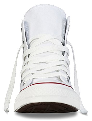 Converse - Sneakers Chuck Taylor All Star HI M7650C - Unisex-Erwachsene hohe Sneakers, Weiß (Optical White)