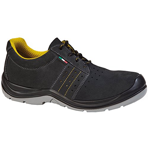 Giasco AC082T38 Sahara Chaussures de sécurité bas S1 Taille 38 Noir/Jaune