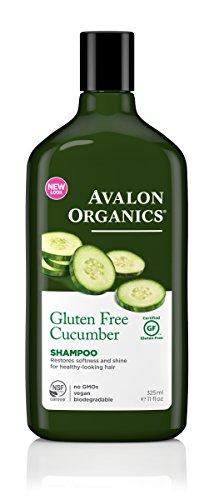 Avalon Organics 325ml Gurke glutenfrei Shampoo (Avalon Shampoo Organics Nutrition)
