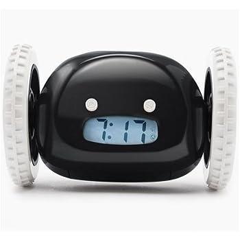 Clocky Rolling Alarm Clock Best Loud For Heavy Sleeper