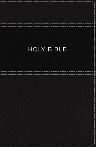 KJV, Apply the Word Study Bible, Large Print, Imitation Leather, Black, Indexed, Red Letter Edition
