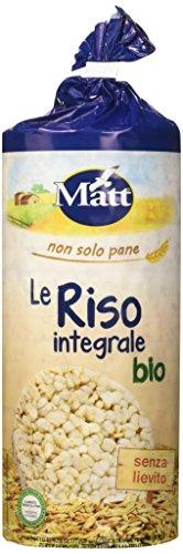 Matt Le Riso Integrale Bio - 120 gr - Grissini Italiani