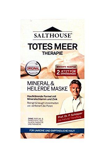 Salthouse Totes Meer Therapie Mineral & Heilerde Maske, (2 x 7 ml), Menge:30er Pack -