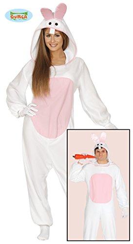 Weißes Hasen Kostüm für Damen Gr. M/L, Größe:L