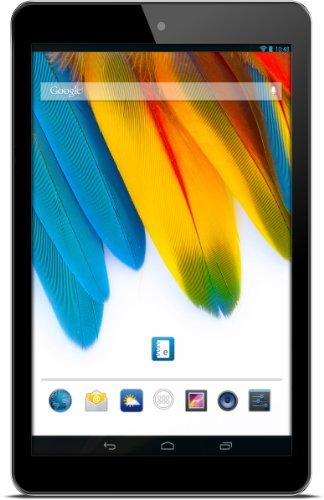 Odys Odys Ace 17,8 cm (7 Zoll) Tablet-PC (1,0 GHz Dual Core-Prozessor, HD Display (1024 x 600),1GB RAM, 8GB HDD, Micro SD, Android 4.2.x,OTA) schwarz
