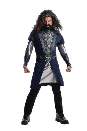 Hobbit Ork Kostüm - Thorin Eichenschild Deluxe Herrenkostüm aus Herr der Ringe, Größe:L
