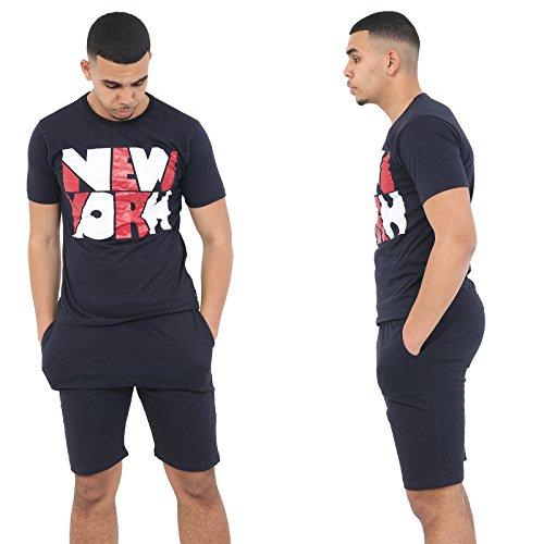 Get the trend pigiama due pezzi - uomo large marina militare