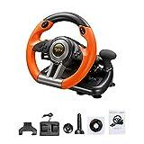 gaeruite Ruote e Pedali Driving Force Racing, Supporto PC / PS3 / PS4 / X-One Gioco per Computer,...