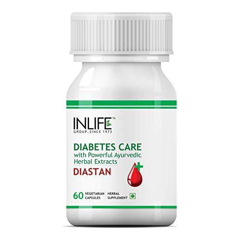 Inlife Diastan Diabetes Care Ayurvedic Supplements - 60 Vegetarian Capsules