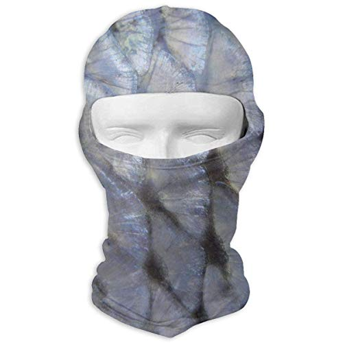Zcfhike Marine Transparent Fish Scales Men Women Balaclava Neck Hood Full Face Mask Hat Sunscreen Windproof Breathable Quick Drying