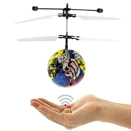 Fliegen Spielzeug Ball Handfliegen UFO-Ball LED Mini-Induktions-Suspendierungs-RC-Flugzeuge (B)