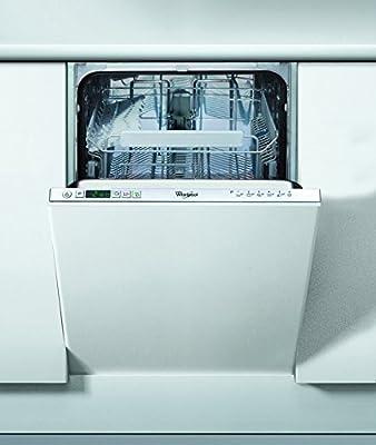 Whirlpool ADG 301 Totalmente integrado 6cubiertos A+ lavavajilla - Lavavajillas (Totalmente integrado, Acero inoxidable, Botones, 1,3 m, 6 cubiertos, 49 dB)