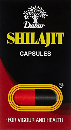 Dabur Shilajit for Vigour and Health - 100 Capsules