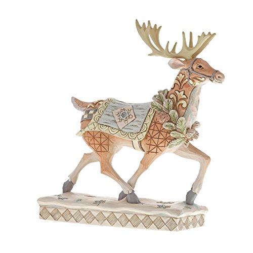Heartwood Creek Woodland Walking Reindeer Figurine
