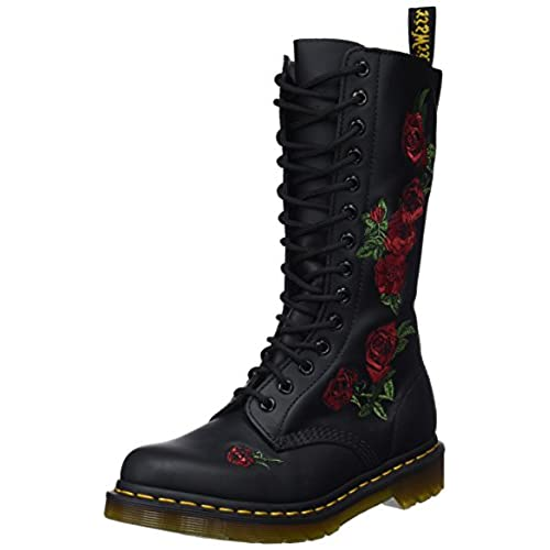 timeless design da520 15ac9 Dr. Martens 101 Smooth, Boots mixte adulte - Rouge (Cherry Red),