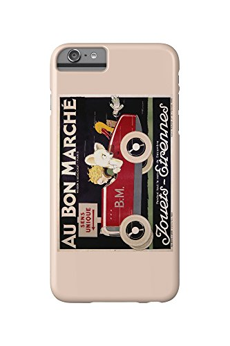 au-bon-marche-jouets-etrennes-car-vintage-poster-artist-vincent-france-iphone-6-plus-cell-phone-case